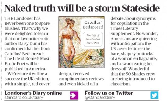 Evening Standard print